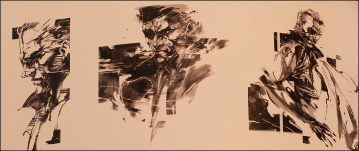 Close Up The Metal Gear Solid 4 Master Art Works Book