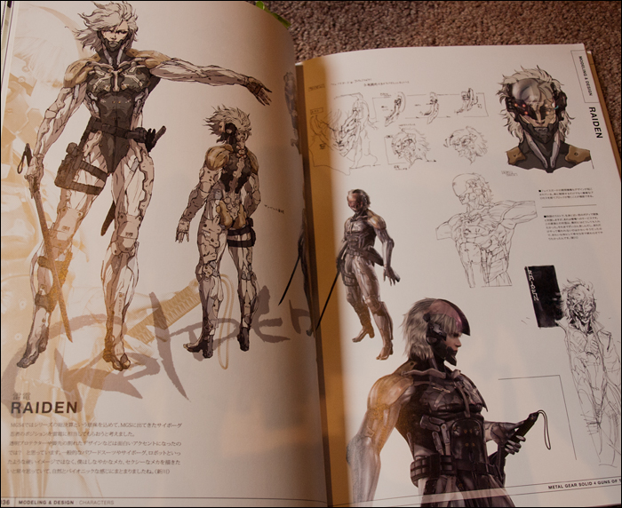 Character Design Masterclass Book Pdf : Close up the metal gear solid master art works book