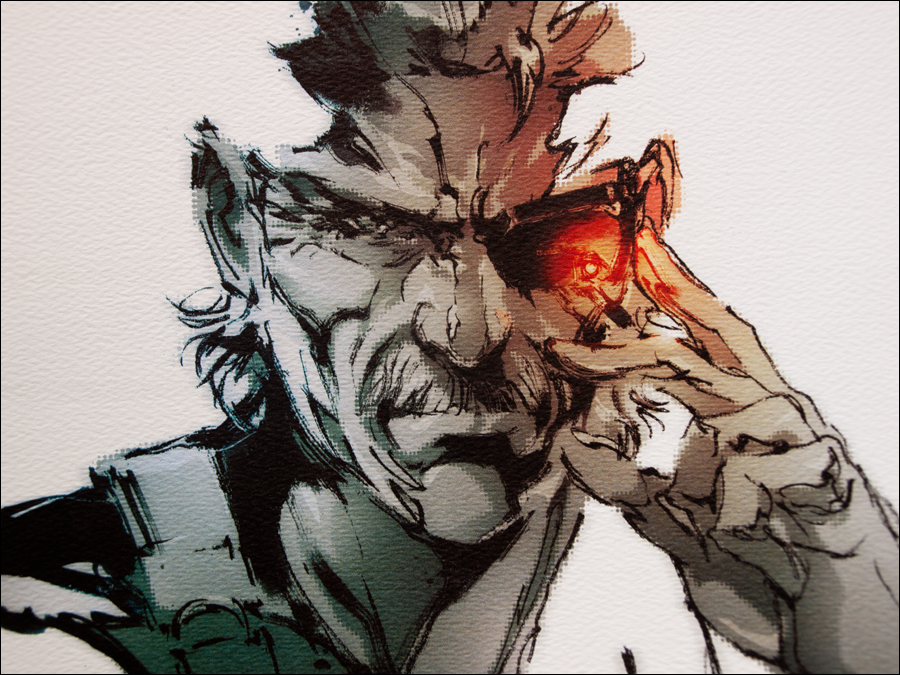 Metal Gear Solid Artwork: Close Up: Metal Gear Solid 4 Collector's Edition Guide