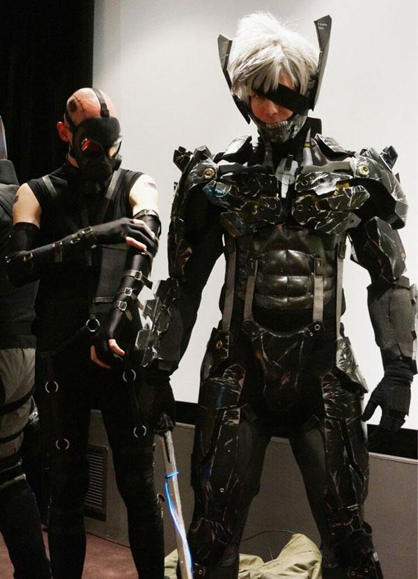 Mtxc Metal Gear Solid 4 Cosplay Raiden HelmetEmiting