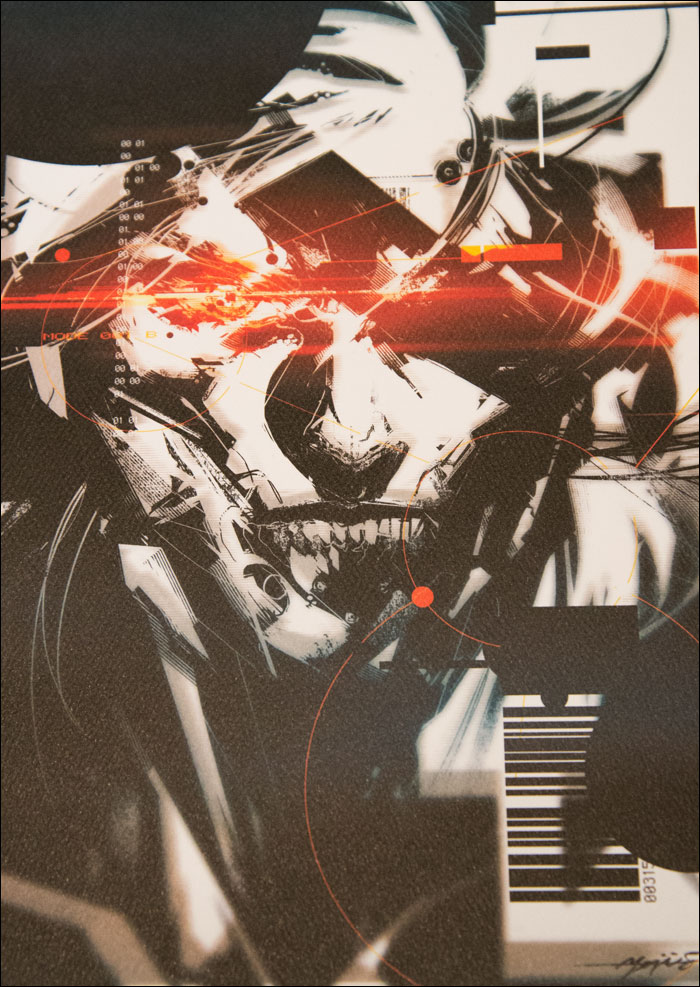 Metal-Gear-Rising-Collector's-Guide-Raiden-Art