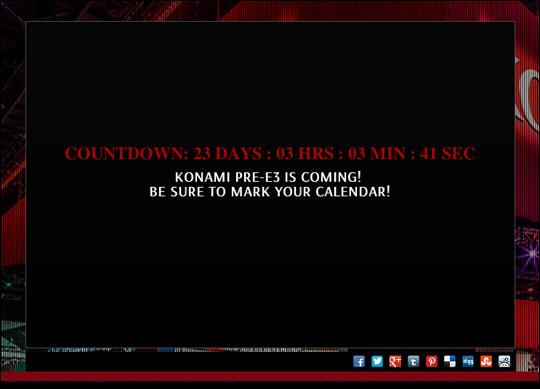 Konami-E3-2013-Countdown