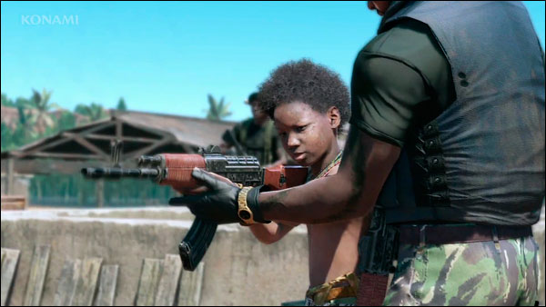 MGSV-E3-Trailer-Child-Soldier-Training